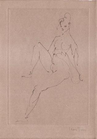 挿絵入り本 Fini - L'épouse Infidèle.  Poemes.  Deux Eaux-Fortes Originales De Leonor Fini.