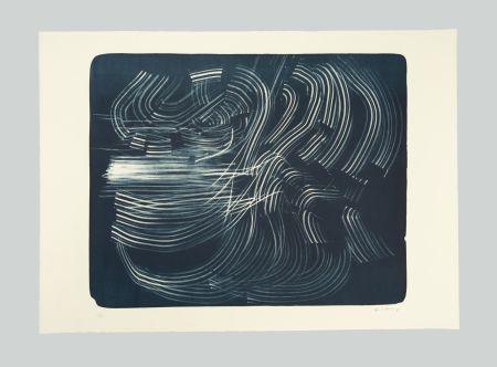 リトグラフ Hartung - L-10-1973