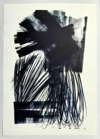 リトグラフ Hartung - L-17-1973