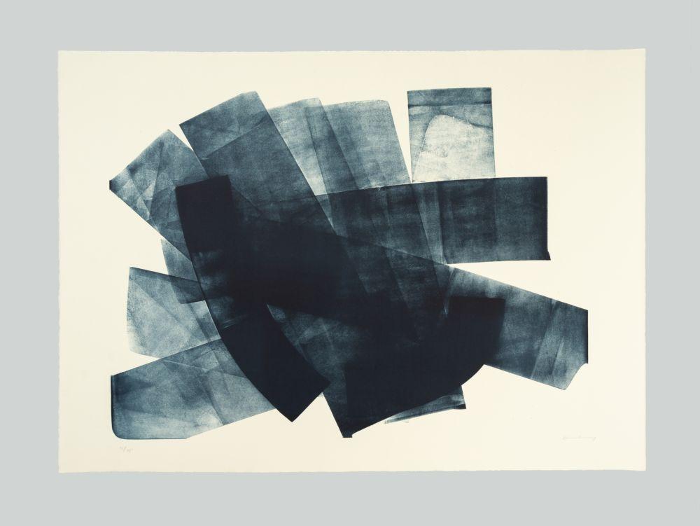 リトグラフ Hartung - L-18-1973