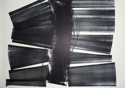 リトグラフ Hartung - L-20-1974