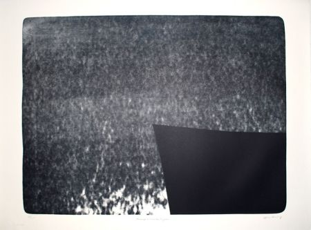 リノリウム彫版 Hartung - L-25 - Hommage à Eva Bergman