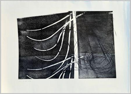 リトグラフ Hartung - L-38-1973