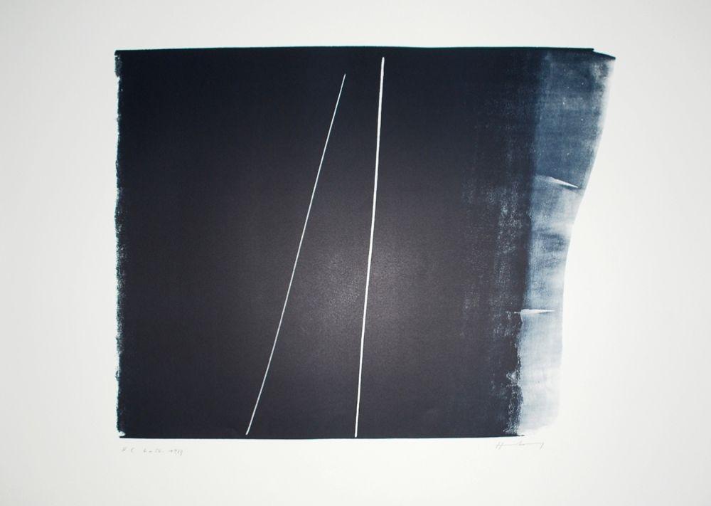 リトグラフ Hartung - L-50-1973