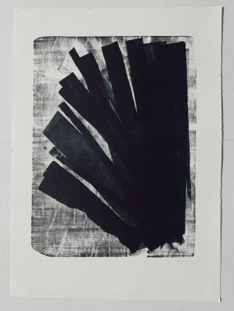 リトグラフ Hartung - L-58-1973