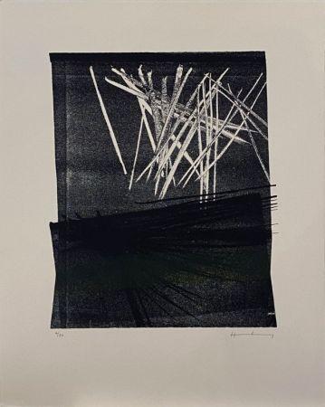 リトグラフ Hartung - L1977-13