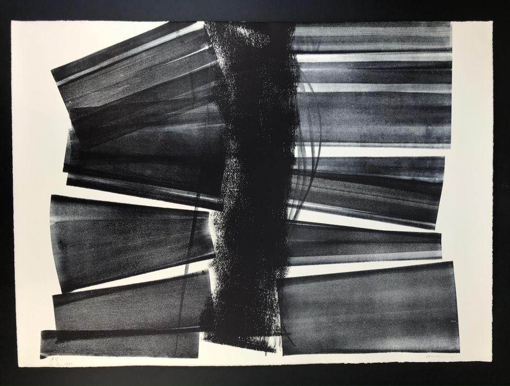 リトグラフ Hartung - L - 1974 - 21