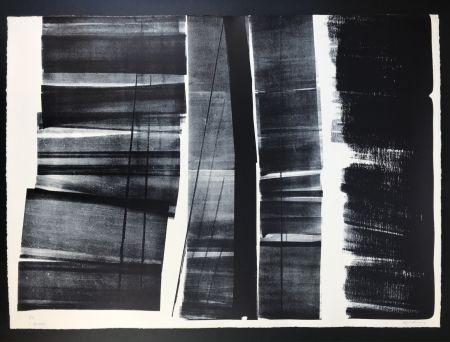 リトグラフ Hartung - L - 21 - 1974