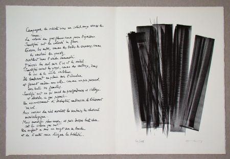 リトグラフ Hartung - L 162, 1965