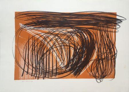 リトグラフ Hartung - L 1971-1