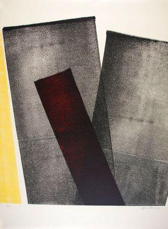 リトグラフ Hartung - L 1977-10