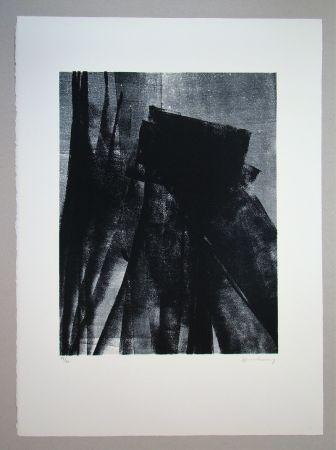 リトグラフ Hartung - L 1977 - 4
