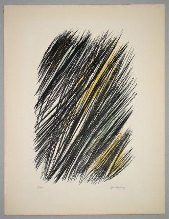 リトグラフ Hartung - L 19 - 1957