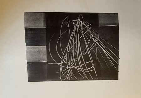 リトグラフ Hartung - L 4