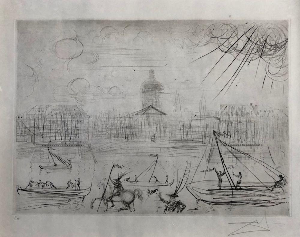エッチング Dali - L' Academie des beaux arts