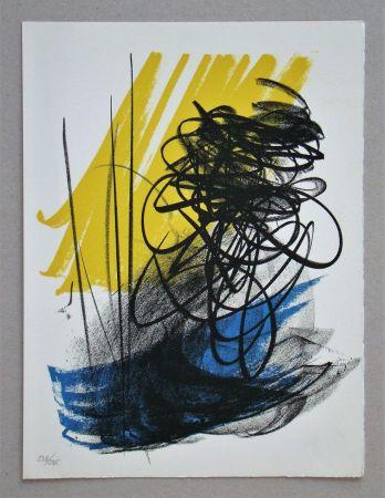 リトグラフ Hartung - L différée - 2, 1964