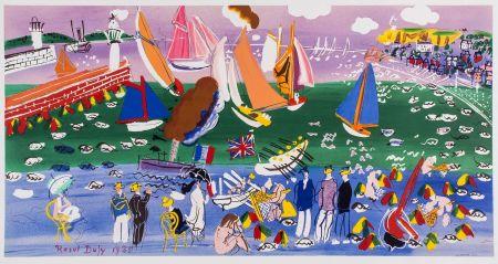 リトグラフ Dufy - LA BAIE DE SAINTE-ADRESSE (1935).