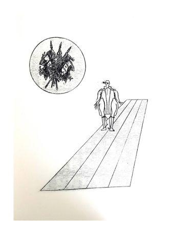 リトグラフ Ernst - La Ballade du Soldat