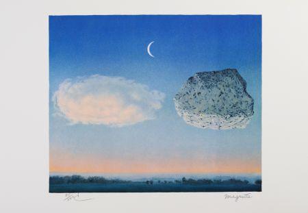 リトグラフ Magritte - La Bataille de Argonne
