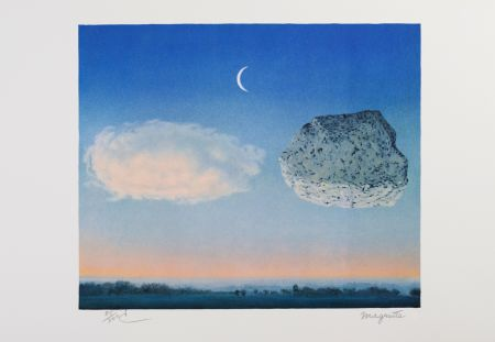 リトグラフ Magritte - La Bataille De L'Argonne (The Battle Of The Argonne)
