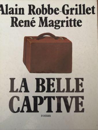 挿絵入り本 Magritte - La Belle Captive - Roman