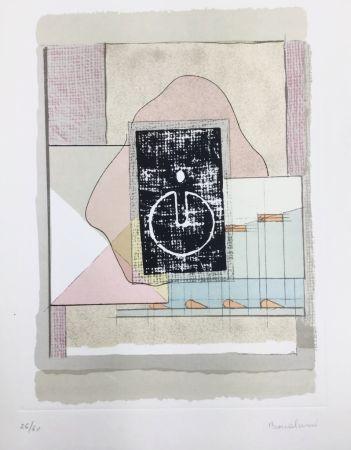 リトグラフ Bonalumi - La casa del vento