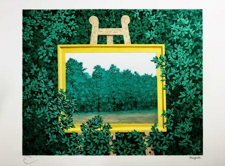 リトグラフ Magritte - La Cascade