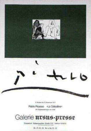 掲示 Picasso - '' La Celestine ''  Galerie Ursus Presse