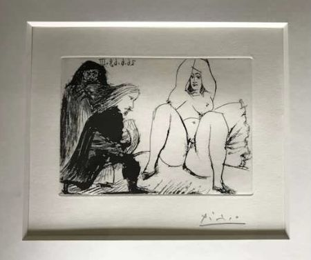 技術的なありません Picasso -  La Celestine, sa protegee, et un jeune gentilhomme