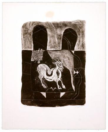 リトグラフ Toledo - La Chèvre