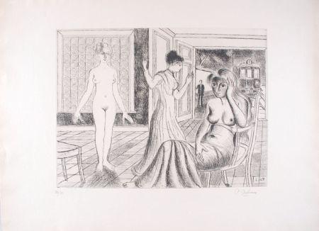 エッチング Delvaux - La Chambre