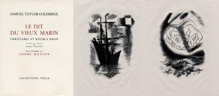 挿絵入り本 Masson - LA CHANSON DU VIEUX MARIN.24 lithographies originales.