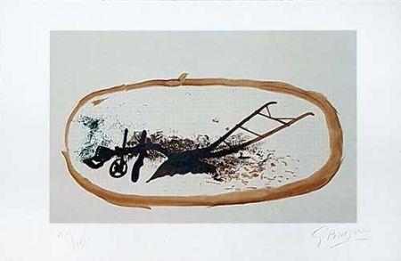 リトグラフ Braque - La charrue