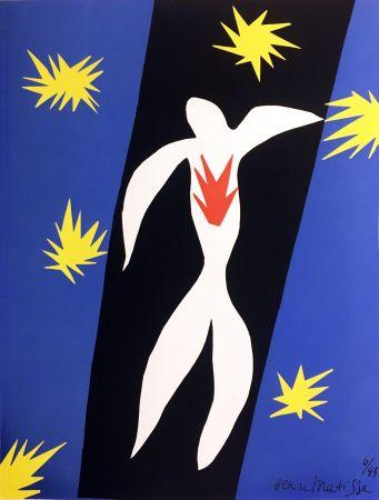 リトグラフ Matisse - LA CHUTE D'ICARE (Pour la revue Verve n°13, 1945)