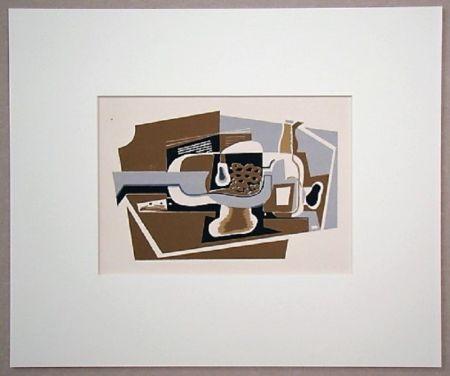 シルクスクリーン Gris  - La compotier, 1923