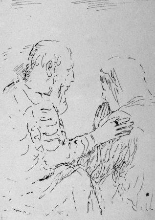 リトグラフ Bonnard - La confessione