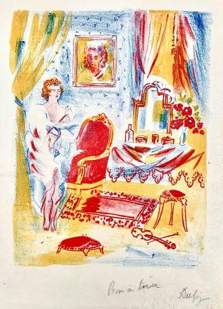 リトグラフ Dufy - La Coquette