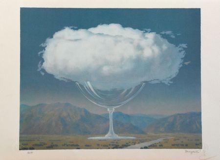 リトグラフ Magritte - La Corde Sensible