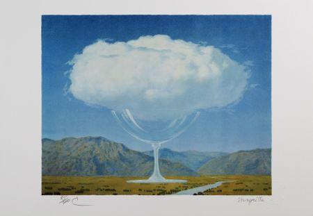 リトグラフ Magritte - La Corde Sensible (Heartstring)