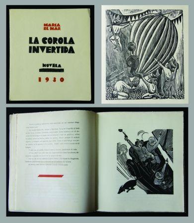 木版 Mendez - La Corola Invertida - novella by Maria Del Mar