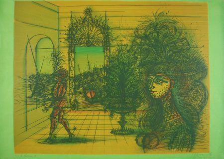 リトグラフ Carzou - La Courtisane II