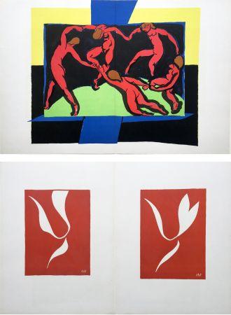リトグラフ Matisse - LA DANSE (D'après le célèbre tableau d' Henri Matisse)