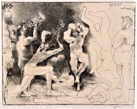 リトグラフ Picasso - La Danse Des Faunes