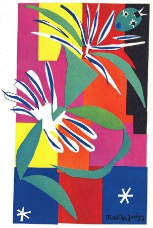 リトグラフ Matisse - La Danseuse Creole