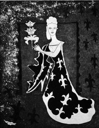 エッチング Haz - La duchessa di Guermantes