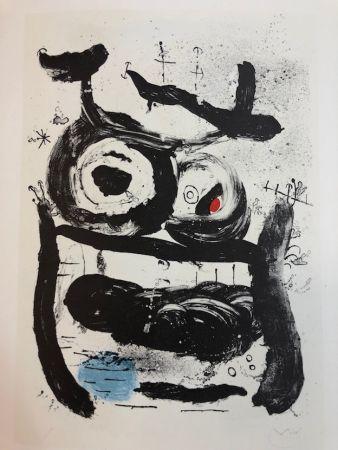 リトグラフ Miró - La Emperatriz