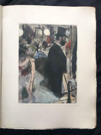 挿絵入り本 Degas - LA FAMILLE CARDINAL.  (Ludovic Halévy). 1938