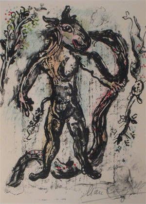 リトグラフ Chagall - La Feerie Et Le Royaume