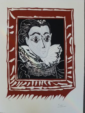 リトグラフ Picasso - La Femme À La Fraise