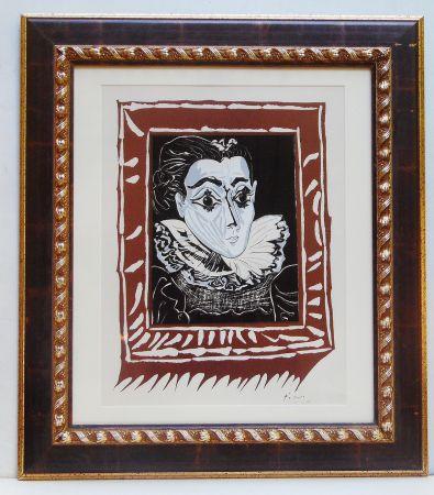 リトグラフ Picasso - La Femme A La Fraise